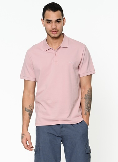 Lee Cooper Polo Yaka Tişört Pembe
